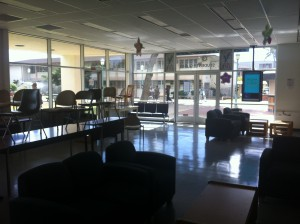 """Student Life officials hope their """"Chillaxin Week"""" event scheduled for next week brings in a lot of new people to the lounge, and helps students end on a high note-- but quietly."""