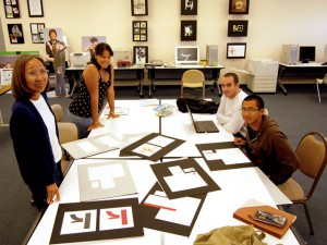 Students in the communication arts program learn about visual literacy and on-the-job training
