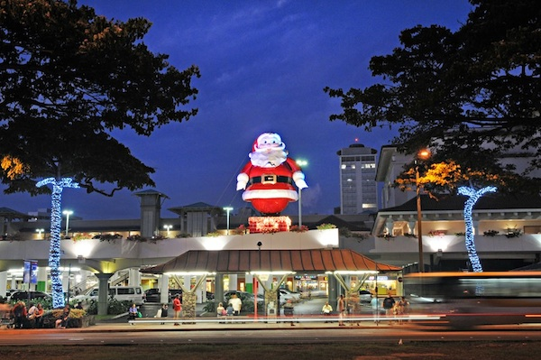 Christmas events start early at mall