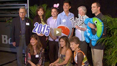 Some UH students got to meet and thank the donors who make their scholarships possible.