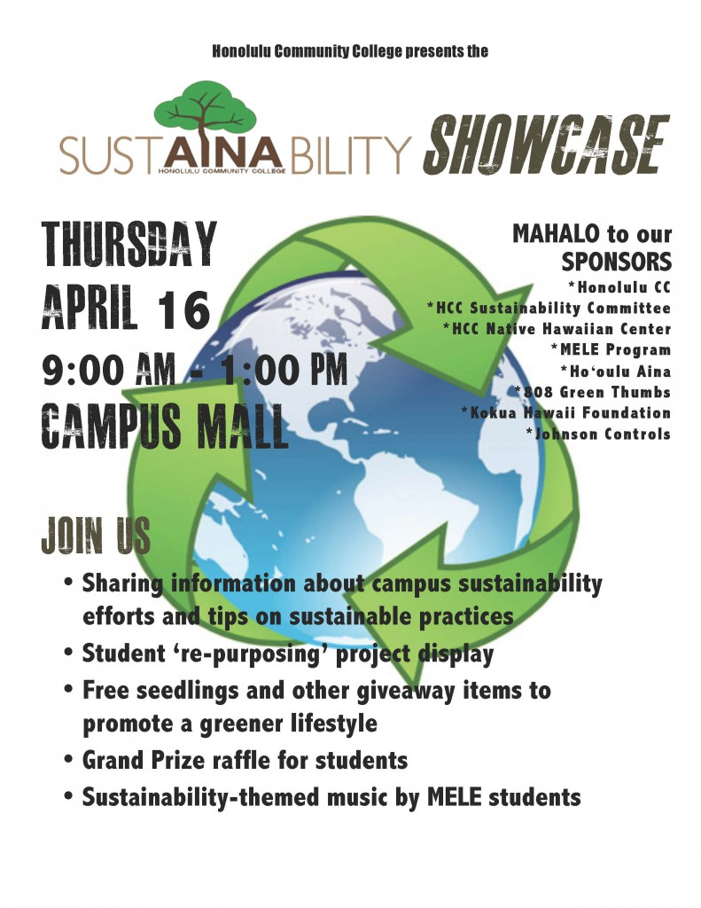 Sustainability Showcase Flier(1)