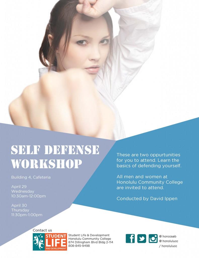 Self Defense Flyer