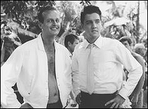 Tom Mofatt and Elvis Presley, back in the day