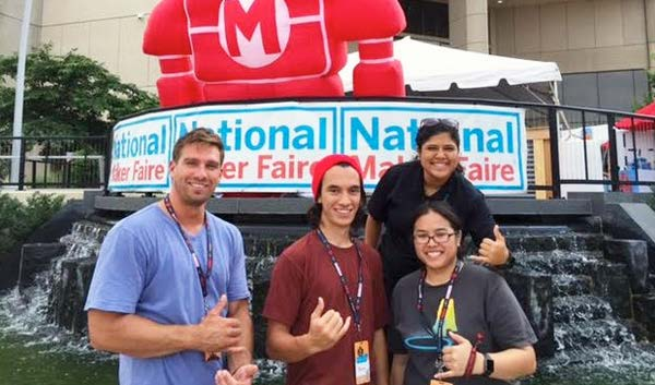 Jasmine Hoapili, top right, was one of 4 UH community college students representing the state.