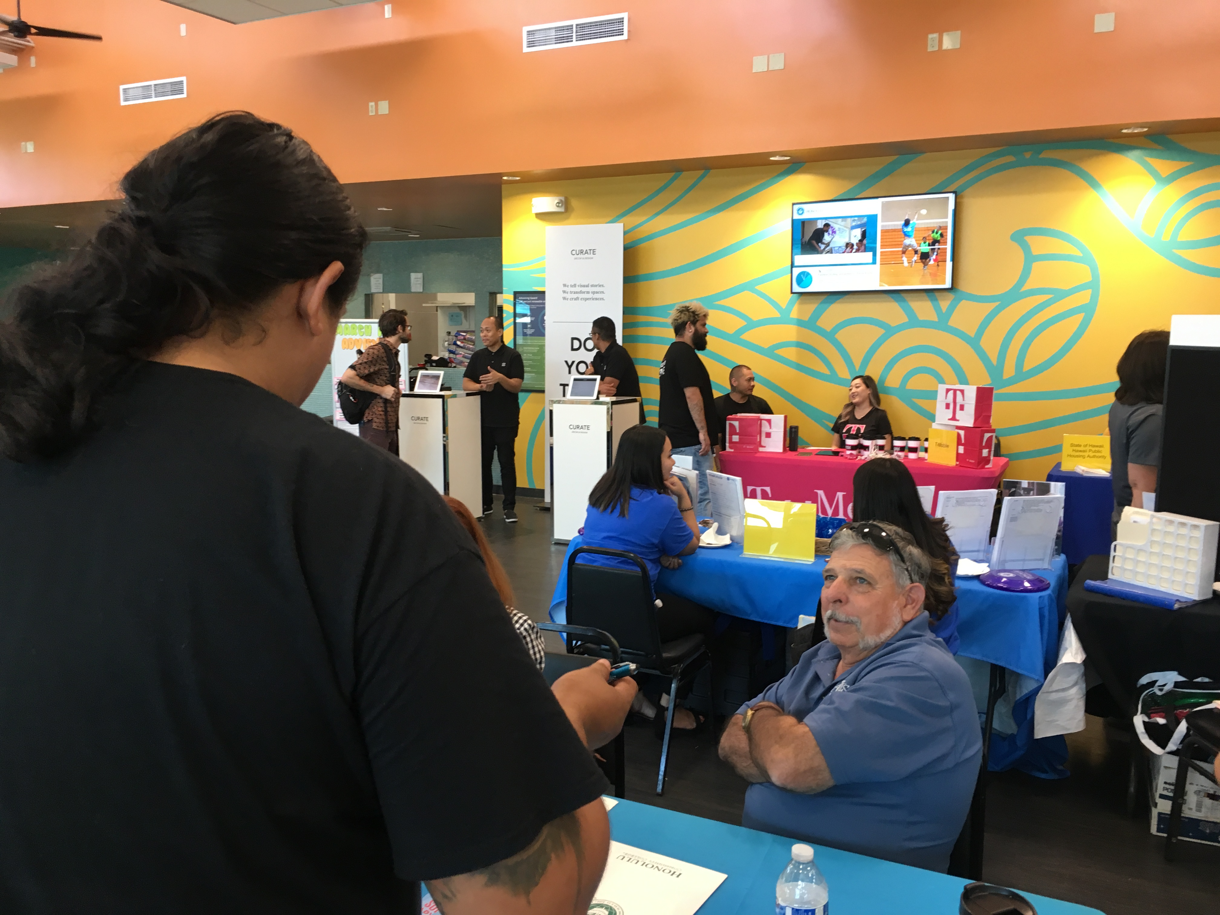 Career Fair Attracts Students Employers